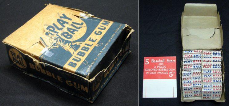 A Box Of Unopened 1948 Baseball Cards Found In An Attic Sold