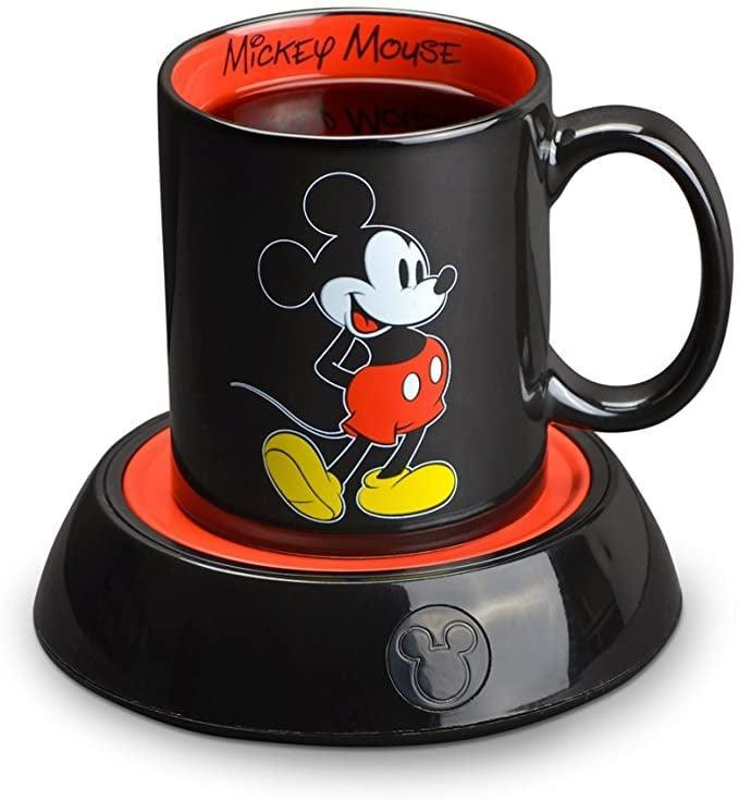 <p>Keep your drinks warm with the <span>Disney Mickey Mouse Mug and Warmer</span> ($14).</p>