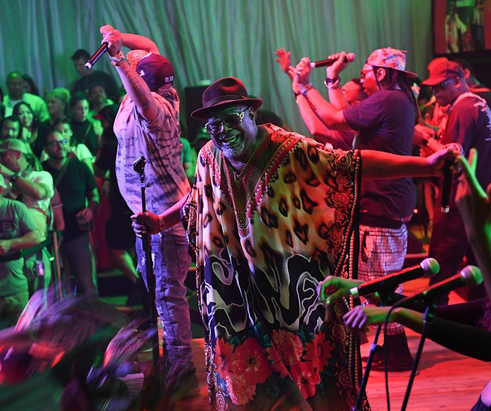 George Clinton performs Sat., April 15 at the Heineken House at Coachella. (Photo courtesy of Heineken)