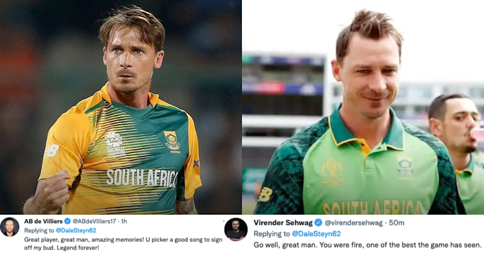 Cricketing Fraternity Reacts To South African Fast Bowler Dale Steyn's Retirement