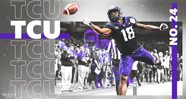 TCU has a history of bouncing back in a big way under Gary Patterson. (Amber Matsumoto/Yahoo Sports)
