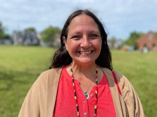 'Through COVID it has been extremely hard with not being able to gather, not being able to share our knowledge, our passion,' says Julie Pellissier-Lush, a Mi'kmaw writer, poet and member of Lennox Island First Nation. (Tony Davis/CBC - image credit)