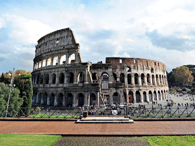 The Colosseum in Rome (AFP/Getty)