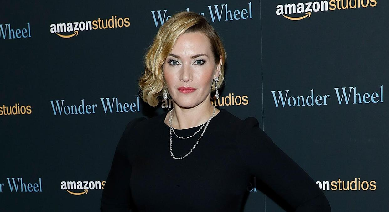 Kate Winslet has opened up about suffering from hormonal skin breakouts as she's got older. (Getty Images)