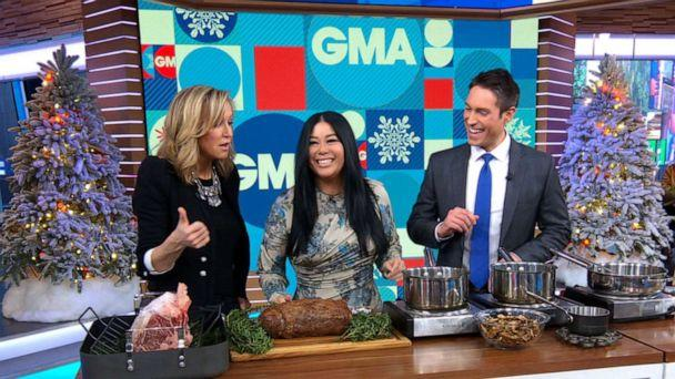 PHOTO: Chef Angie Mar, the owner and executive chef at New York City's The Beatrice Inn, shared a classic holiday dish with 'Good Morning America,' Dec. 23, 2019. (ABC News)