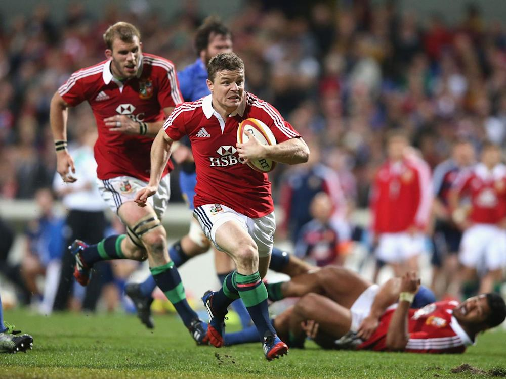 Brian O'Driscoll is one of those 13s who left a lasting impression on McGeechan (Getty)