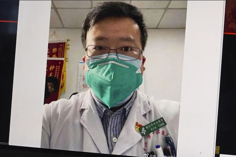 Dr Li Wenliang (pictured) died on Friday, February 7, 2020, after being infected with coronavirus.