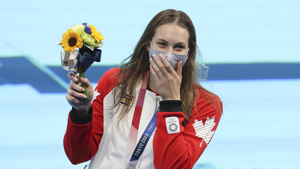 Penny Oleksiak is having another Olympics to remember. (Photo by Jean Catuffe/Getty Images)