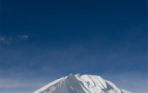 Chow's shot of the summit of Denali, North America's highest mountain in Alaska. (Stefen Chow photo)