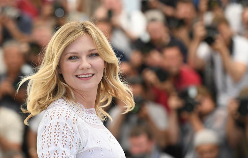 CANNES, FRANCE - MAY 24: Actress Kirsten Dunst attends