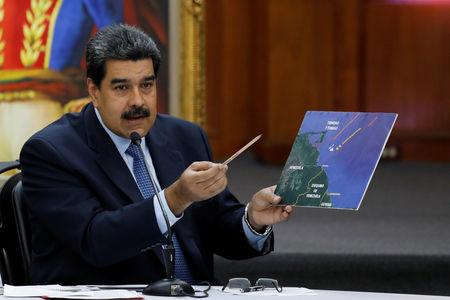 Venezuela's Maduro warns of 'diplomatic measures' against LatAm critics