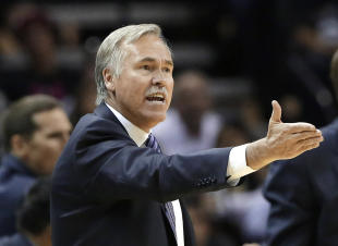 Mike D'Antoni last coached in the NBA during the 2013-14 season with the Lakers. (AP)