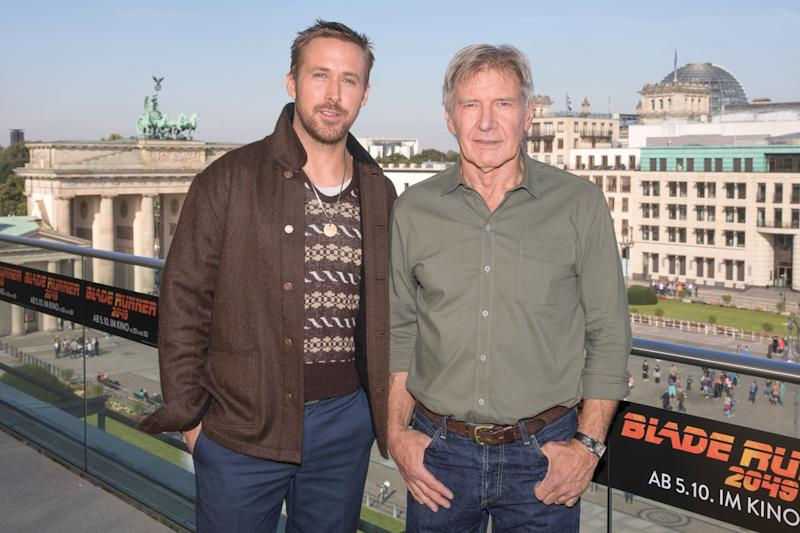 Film: Wie Harrison Ford in Berlin mit Ryan Gosling frotzelt