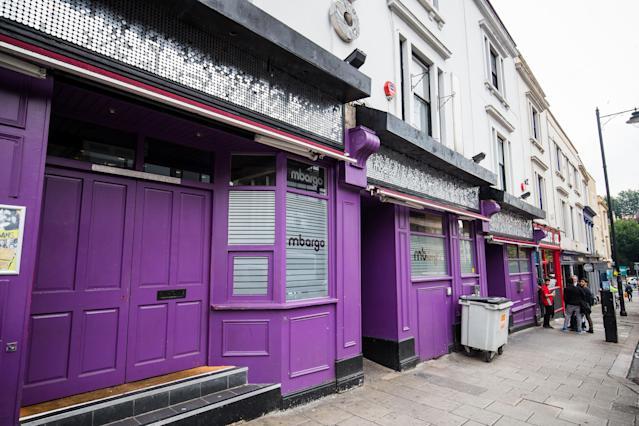 Mbargo nightclub in Bristol, outside which Ben Stokes is alleged to have been involved in an incident