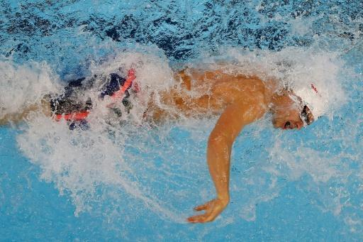 Andrew, Puts spring surprises at short course swimming worlds