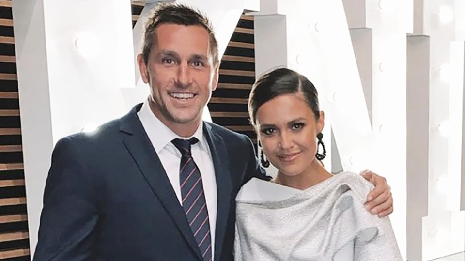 Mitchell Pearce will step down as captain of the Newcastle Knights, after reports his wedding was called off because he'd been messaging a member of staff at the club emerged. Picture: Instagram/mitchpearce_7