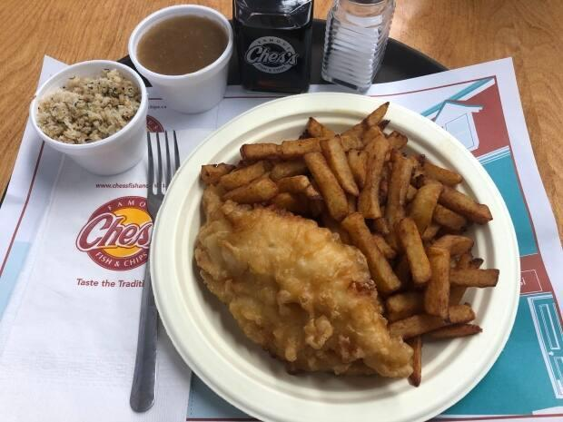 Many people will be looking for their feed of fish and chips on Good Friday. (Jeremy Eaton/CBC - image credit)