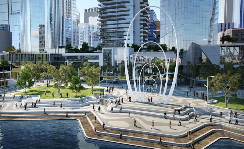 $1.3m sculpture to adorn Elizabeth Quay