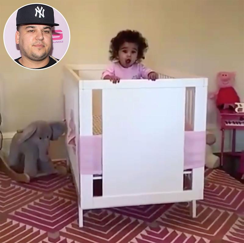 Look Who's Talking! Rob Kardashian's Daughter Dream Sweetly Calls for 'Dada'