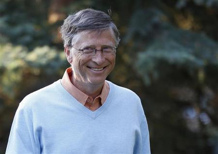 Microsoft co-founder Bill Gates attends the Allen & Co Media Conference in Sun Valley, Idaho July 12, 2012. REUTERS/Jim Urquhart