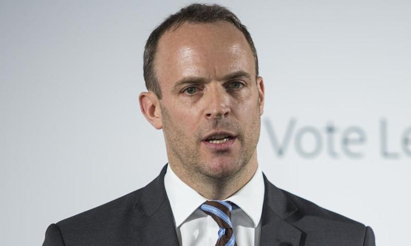 Tory MP Dominic Raab