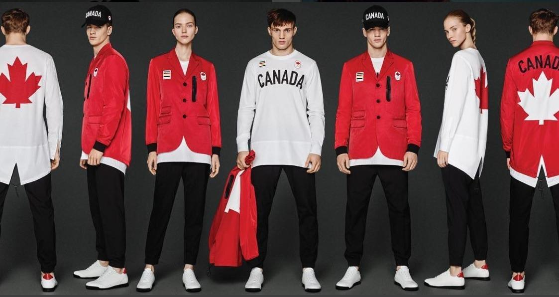 <p>The uber-cool Canadian uniforms designed by DSquared2 makes us all want to take up sport again just so that we can get our hands on the ultra-fresh threads.<i> [Photo: Canadian Olympic Committee] </i></p>
