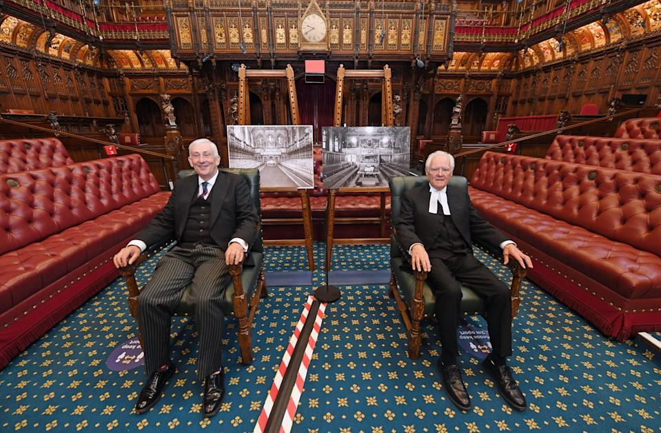 Parliament speakers mark the plan for MPs to move to Lords (UK Parliament/Jessica Taylor)