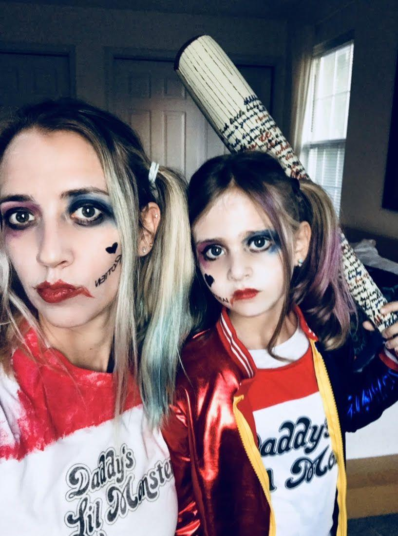 """<p>Want to match your little one this Halloween? Check out this mother-daughter duo that's equal parts store-bought and DIY. For an extra-fun accent, take a Sharpie to your bat to write your own unique phrases. </p><p><a class=""""link rapid-noclick-resp"""" href=""""https://www.amazon.com/Sharpie-Permanent-Marker-Point-Black/dp/B00MY8DSXW/ref=sr_1_2?tag=syn-yahoo-20&ascsubtag=%5Bartid%7C10050.g.29418972%5Bsrc%7Cyahoo-us"""" rel=""""nofollow noopener"""" target=""""_blank"""" data-ylk=""""slk:SHOP BLACK SHARPIES""""><strong>SHOP BLACK SHARPIES</strong></a></p>"""