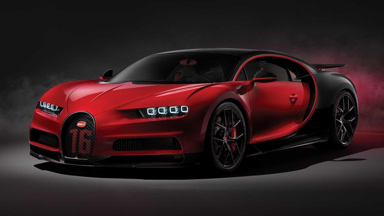 """<p><strong>£2.75 Million</strong></p> <p>Priced at £2,750,000, the Chiron Sport amps up the """"entry level"""" <a href=""""https://uk.motor1.com/bugatti/chiron/"""">Chiron</a> with a firmer chassis, revised suspension, and extensive use of lighter-weight components throughout the car – it even has carbon-fibre windscreen wiper arms – for improved handling abilities. Other model-specific touches include a four-pipe exhaust deflector at the rear.</p><h2>The latest from Bugatti</h2><ul><li><a href=""""https://uk.motor1.com/news/365597/bugatti-centodieci-debuts-eb110-successor/?utm_campaign=yahoo-feed"""">Bugatti Centodieci channels iconic EB110 in Pebble Beach debut</a></li><br></ul>"""