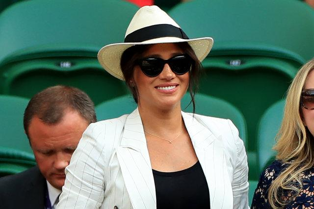 Meghan Markle, Kate Middleton all smiles at Wimbledon