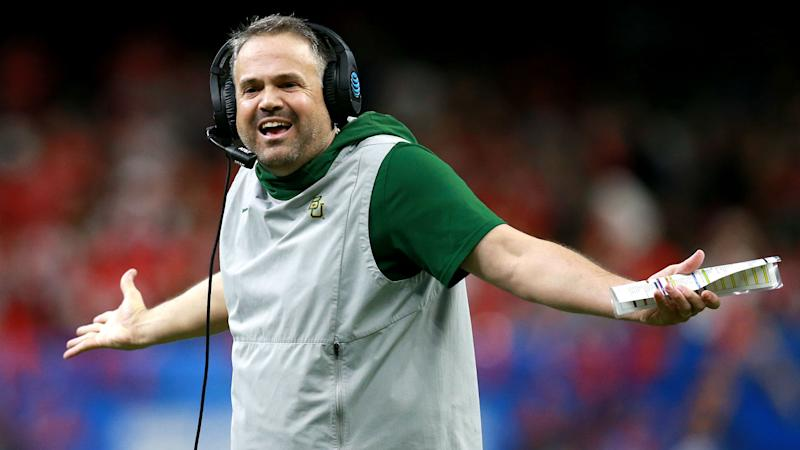 Panthers hire Baylor's Matt Rhule as new head coach, reports say
