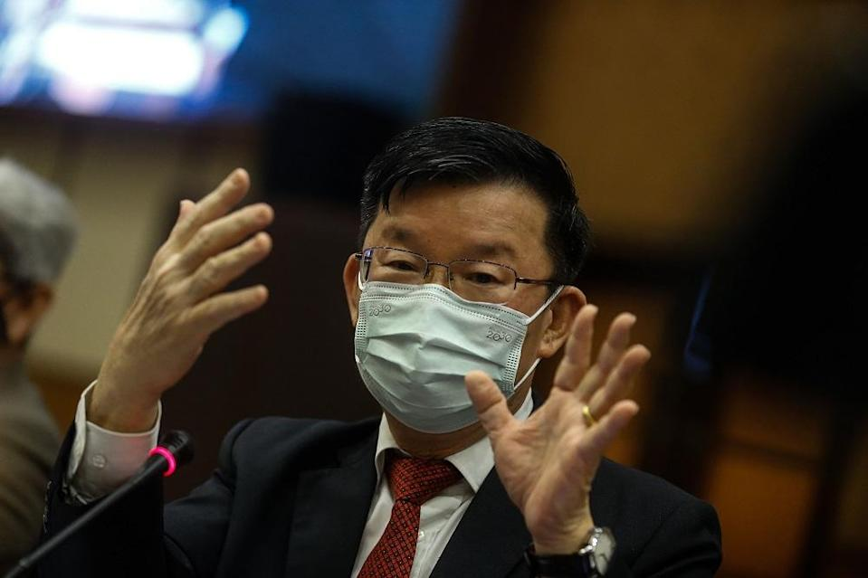 Penang Chief Minister Chow Kon Yeow said the state government feels that the state legislative assembly too needs to convene as the Emergency Ordinance and Malaysia's Covid-19 recovery plan has also impacted the state administration. — Picture by Sayuti Zainudin