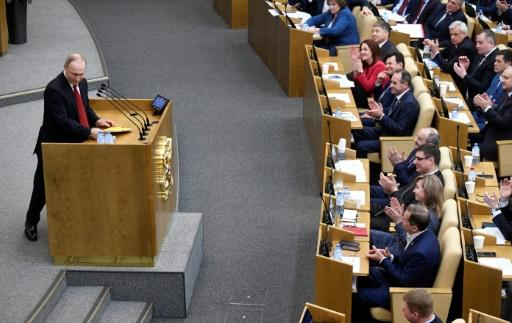 Putin made a surprise address to the lower house of parliament