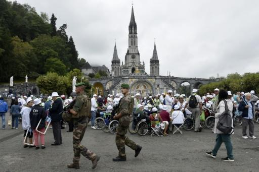 Catholic pilgrims gather in Lourdes under tight security