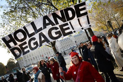 The two faces of Hollande: decisive abroad, ditherer at home