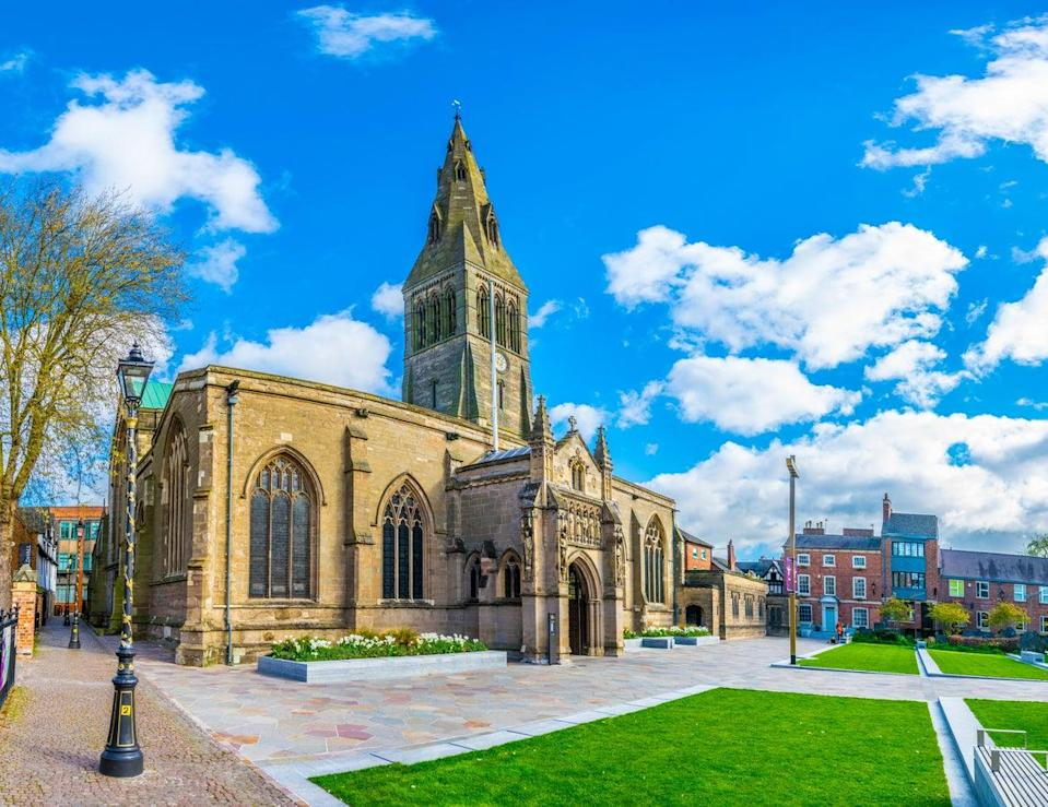 Leicester Cathedral, helping prove the city is not just about football and Richard III (Getty Images/iStockphoto)