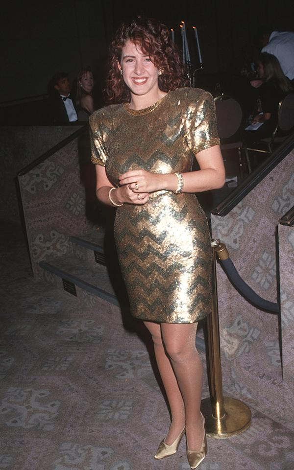 <p>Daughter of showbiz stars Eddie Fisher and Connie Stevens and half-sister of Carrie, Joely would score a Golden Globe nomination for her best-known TV role on 'Ellen.' (Photo: Ron Galella/WireImage) </p>