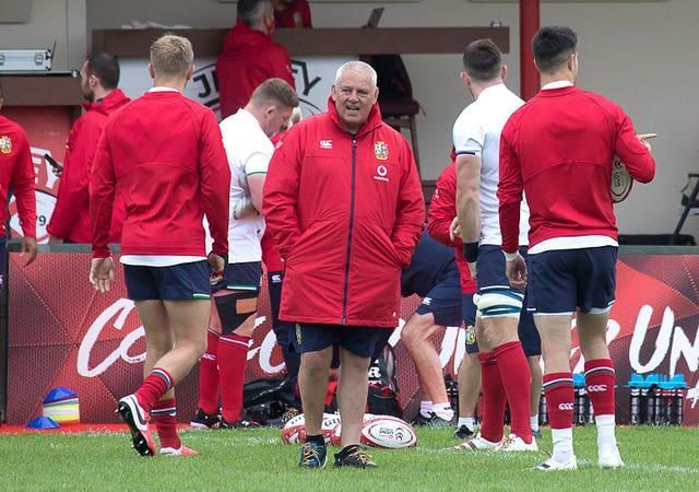 Lions head coach Warren Gatland names his first team of the 2021 tour to South Africa on Tuesday