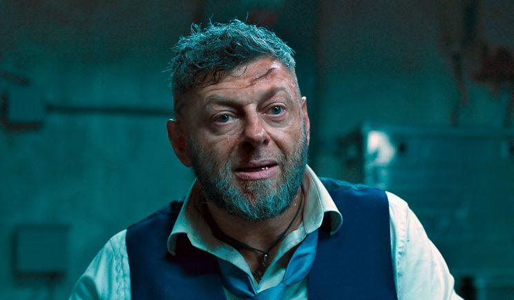 Andy Serkis as Black Panther villain, Ulysses Klaue - Credit: EW/Marvel