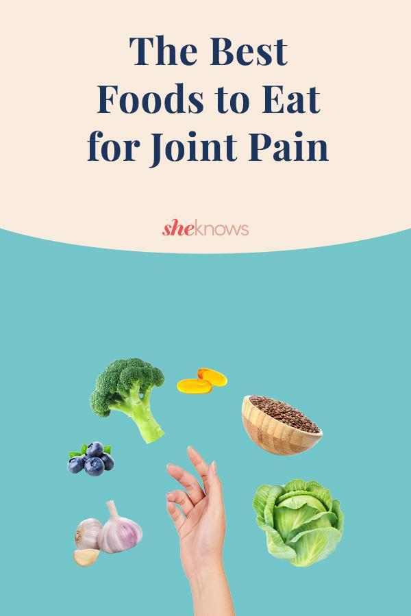 Best foods for joint pain - pin graphic