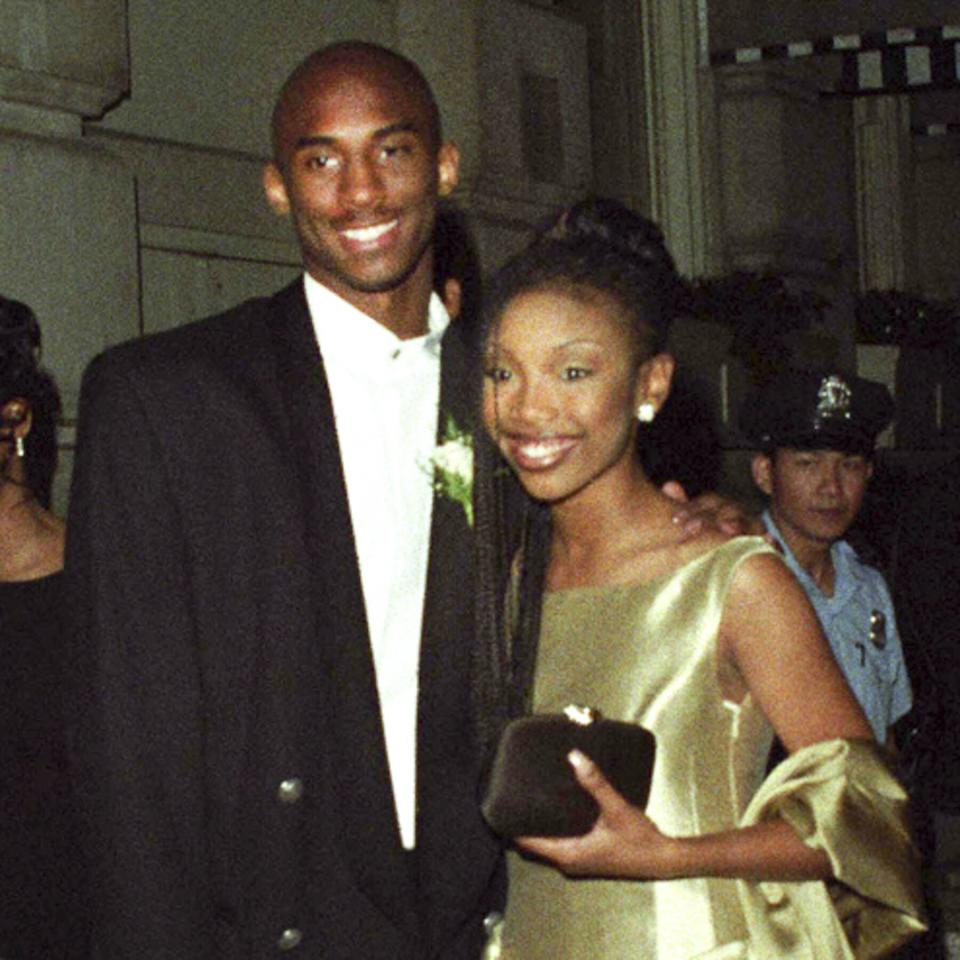 Before entering the NBA Draft as a teen, the high school senior brought a very special date to his prom: singer Brandy.
