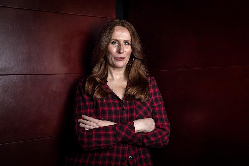 Catherine Tate poses during a photo shoot in Melbourne, Victoria. (Photo by Jake Nowakowski / Newspix / Getty Images)