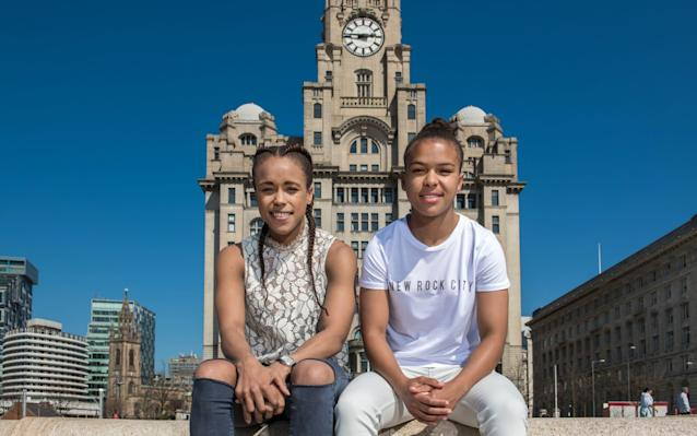 Natasha Jonas (left) and Nikita Parris face the most significant weekend in their sporting lives - Paul Cooper
