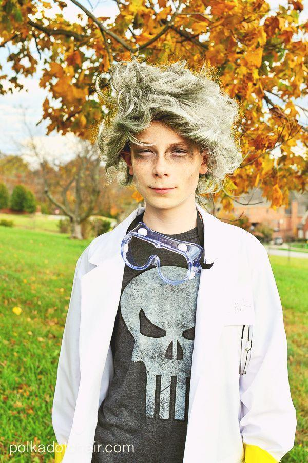 """<p>Tween boys can rock a favorite T-shirt and jeans underneath a lab coat and safety goggles. And if he gets sick of wearing a costume, it's easy to transition out of this look.</p><p><strong>Get the tutorial at <a href=""""https://www.polkadotchair.com/mad-scientist-costume/"""" rel=""""nofollow noopener"""" target=""""_blank"""" data-ylk=""""slk:Polka Dot Chair"""" class=""""link rapid-noclick-resp"""">Polka Dot Chair</a>.</strong></p><p><strong><a class=""""link rapid-noclick-resp"""" href=""""https://www.amazon.com/dp/B08YK9VF92/ref=sspa_dk_detail_3?tag=syn-yahoo-20&ascsubtag=%5Bartid%7C10050.g.21603260%5Bsrc%7Cyahoo-us"""" rel=""""nofollow noopener"""" target=""""_blank"""" data-ylk=""""slk:SHOP SAFETY GOGGLES"""">SHOP SAFETY GOGGLES</a></strong></p>"""