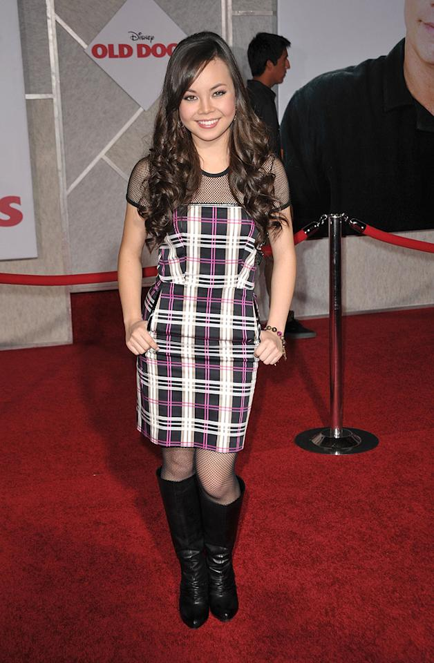 """<a href=""""http://movies.yahoo.com/movie/contributor/1809847789"""">Anna Maria Perez de Tagle</a> at the Los Angeles premiere of <a href=""""http://movies.yahoo.com/movie/1809918087/info"""">Old Dogs</a> - 11/09/2009"""