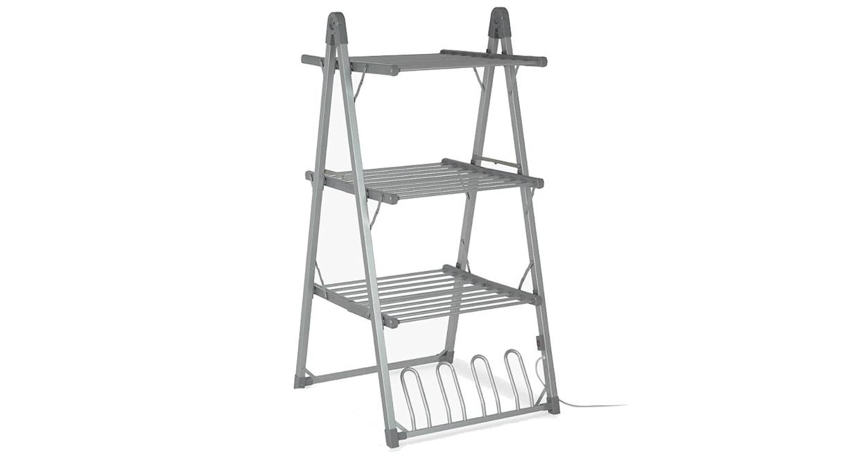 3-Tier Heated Indoor Clothes Airer