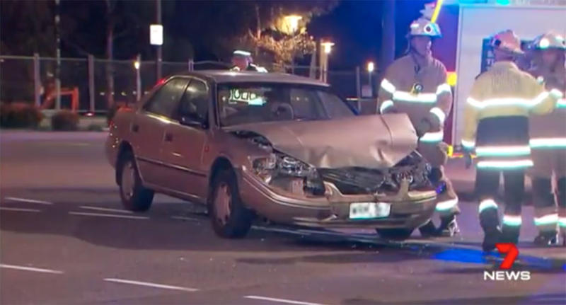 Adelaide Westbourne Parkpatient dies metres from hospital after his ambulance and another car crashed.