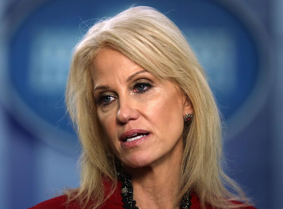 More Kellyanne Conway. (Photo: Alex Wong via Getty Images)