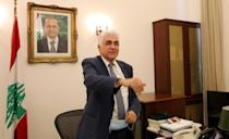 Hitti announced his resignation over to the government's mishandling of the country's worst crisis in decades, as premier Hasan Diab's under-fire cabinet struggles to secure international financial support