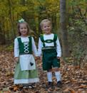 <p>Siblings can take on a classic fairy tale with this adorable <span>Hansel and Gretel set</span> ($75 for both). </p>